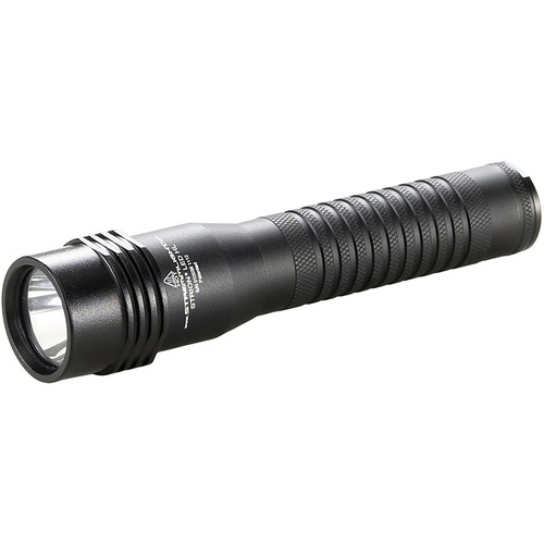 Streamlight Strion HL Rechargeable LED Flashlight with 120/100 VAC / 12 VDC Charger Bracket (Black,Clamshell Packaging)
