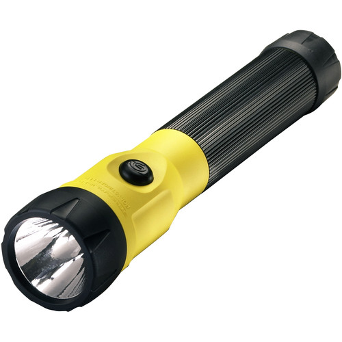 "Streamlight PolyStinger Rechargeable LED Flashlight with AC/DC ""Piggyback"" Smart Charger (Yellow)"