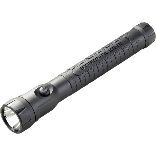 Streamlight PolyStinger Haz-Lo Rechargeable LED Flashlight with 12 VDC Smart Charger (Black)