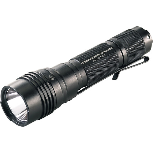 Streamlight ProTac HL-X Tactical Flashlight with Two CR123A Batteries