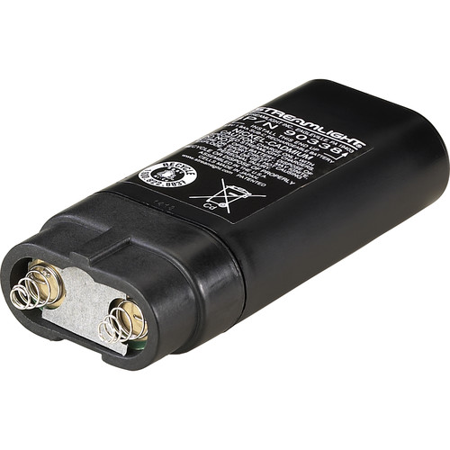 Streamlight NiCd Battery Pack for Incandescent Survivor Div. 2 and Knucklehead (Black Sleeve)