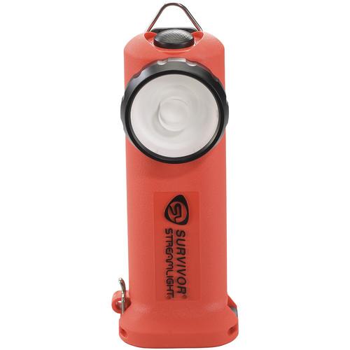 Streamlight Survivor Right-Angle Rechargeable LED Flashlight (Orange)