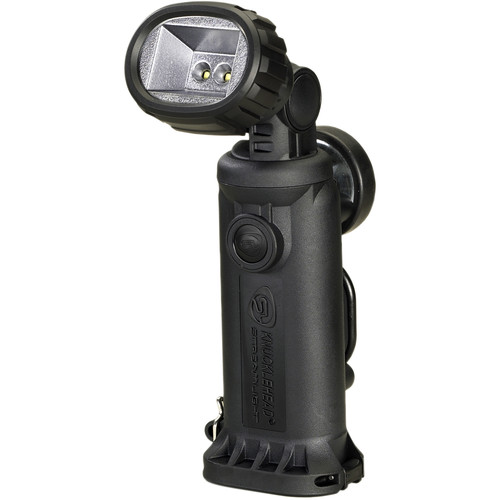 Streamlight Knucklehead Div. 2 Flood Rechargeable Worklight with 120/100 VAC / 12 VDC Charger (Black)