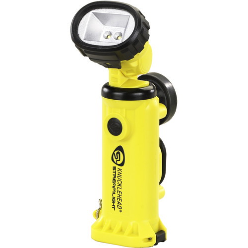 Streamlight Knucklehead Div. 2 Flood Rechargeable Worklight with 120/100 VAC One-Hour Fast Charger (Yellow)