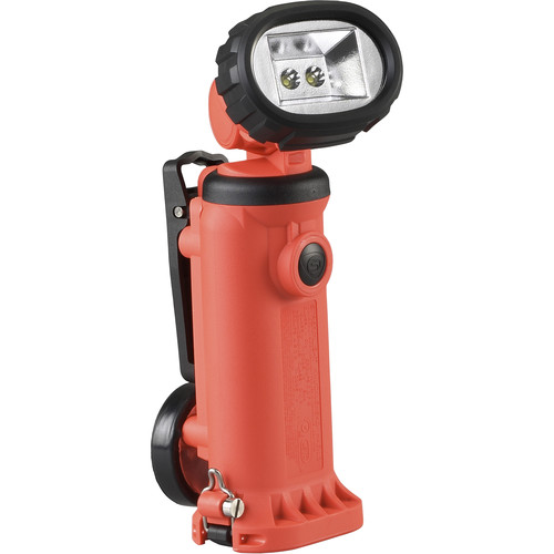 Streamlight Knucklehead Div. 2 Flood Rechargeable Worklight with 120/100 VAC One-Hour Fast Charger (Orange)