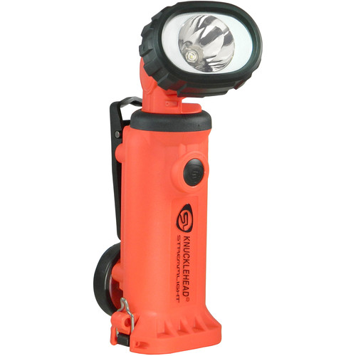 Streamlight Knucklehead Div. 2 Spot Rechargeable Worklight with 12VDC One-Hour Fast Charger (Orange)