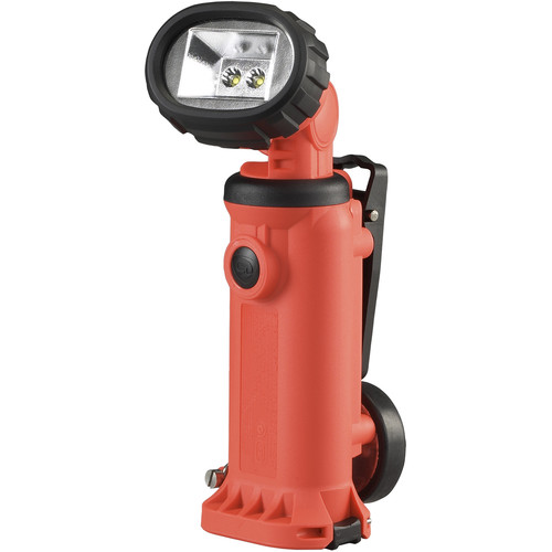 Streamlight Knucklehead Haz-Lo Flood Worklight with AA Alkaline Batteries (Orange , Clamshell Packaging)