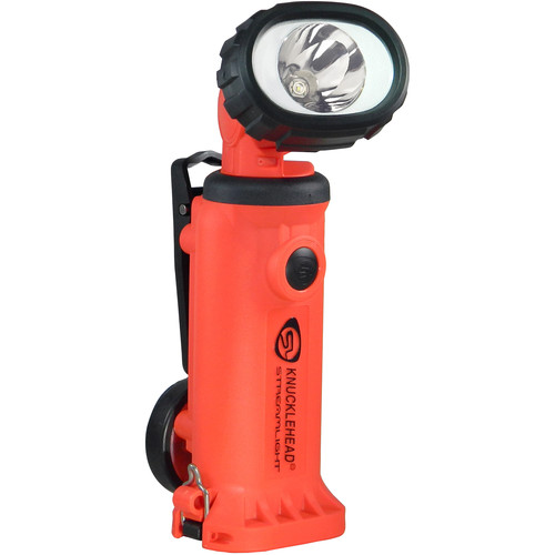 Streamlight Knucklehead Haz-Lo Flood Rechargeable Worklight with 120/100 VAC / 12 VDC Charger (Orange )