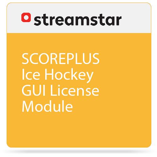 Streamstar SCOREPLUS Ice Hockey GUI License Module