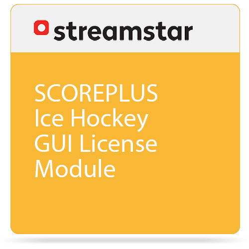 Streamstar SCOREPLUS Ice Hockey GUI License Module