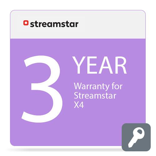 Streamstar 2-Year Extended Warranty for Streamstar X4
