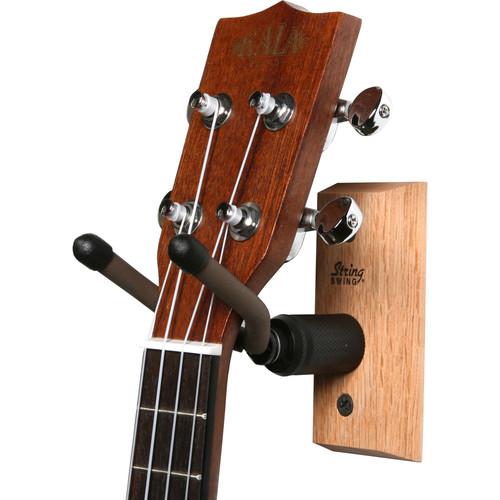 STRING SWING CC01UK Hardwood Ukulele/Mandolin Home and Studio Keeper Stand (Oak)