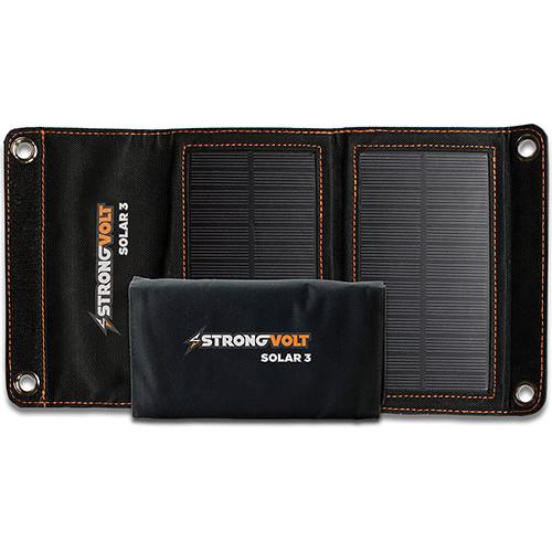 StrongVolt Solar 3 Watt Charger