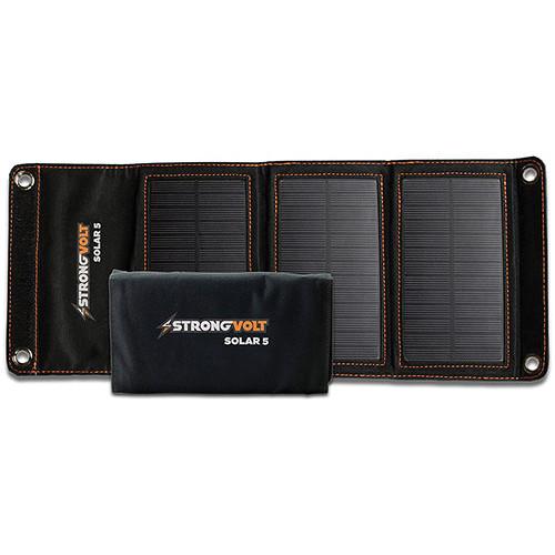StrongVolt Solar 5 Watt Charger