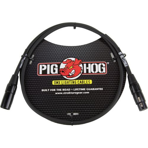 Pig Hog 3-Pin XLR DMX Cable (3')
