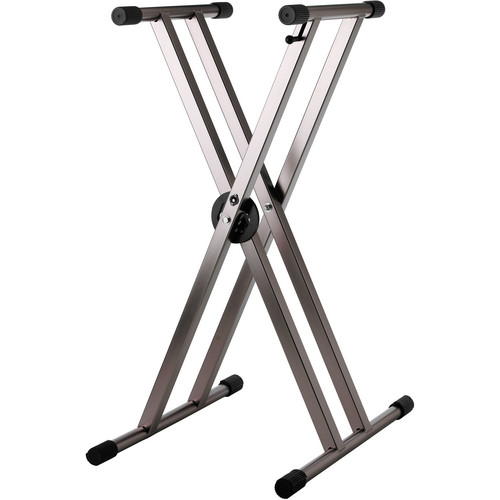Strukture Knockdown 2X Aluminum Keyboard Stand (Anodized Black)