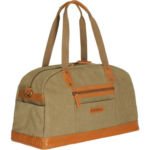 Studio 26 Solecarry /26 Duffel Bag (Khaki/Saddle)