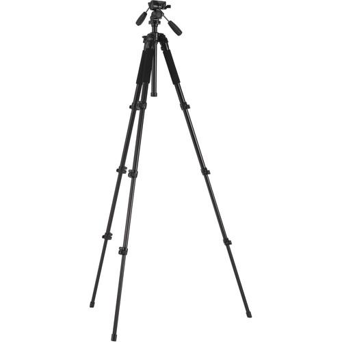 Studio Assets SA1446 3-Way Head with Medium Photo Tripod Kit