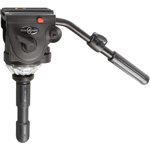 "Studio Assets Pro Video Fluid Head with 2.8"" Half Ball"