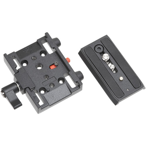 Studio Assets Video Quick Release Adapter and Sliding Plate with Screws