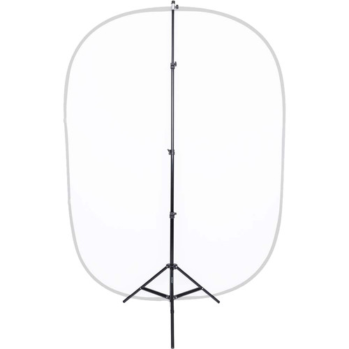 Studio Essentials Pop-Up Background and Reflector Stand with Clip (7.5')