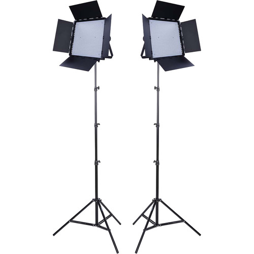Studio Essentials 1200 Daylight LED Panel 2-Light Kit
