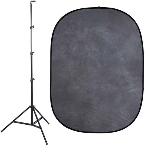 Studio Essentials Pop-Up Background Kit (5 x 6.5', Gray)