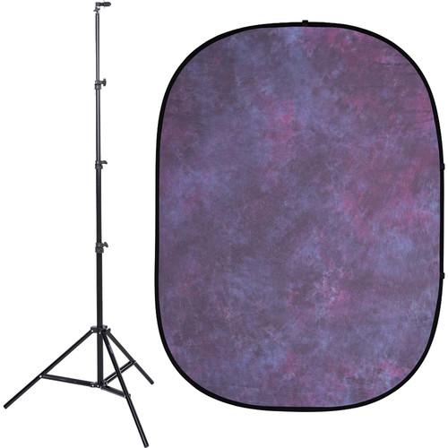 Studio Essentials Pop-Up Background Kit (5 x 6.5', Pink/Gray)