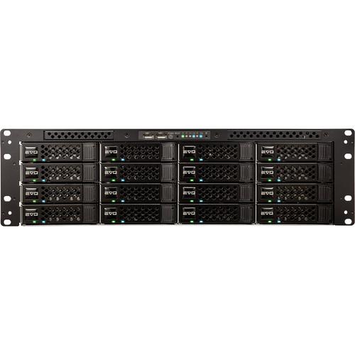 Studio Network Solutions 16B96TB-6X1C EVO Shared Storage 16-Bay Base Media Server with ShareBrowser (96TB)