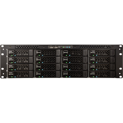 Studio Network Solutions 16B96TB-6X1C EVO Shared Storage 16-Bay Base Media Server with ShareBrowser (96TB)