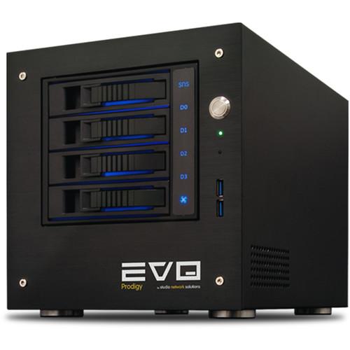 Studio Network Solutions EVO Prodigy 24TB 4-Bay NAS Server (4 x 6TB)