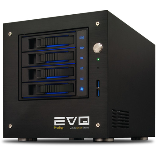 Studio Network Solutions EVO Prodigy 8TB 4-Bay NAS Server (4 x 2TB)