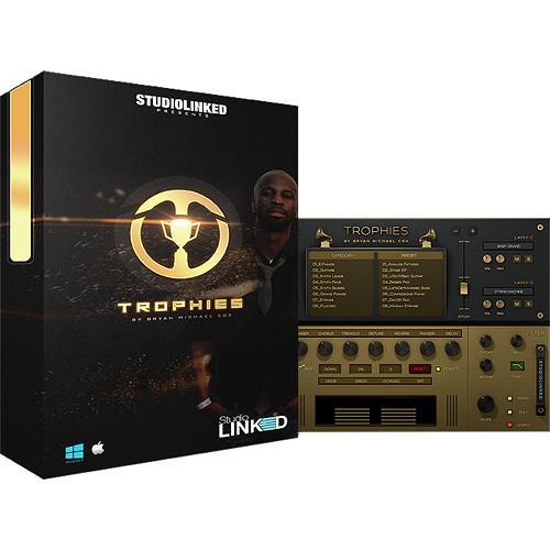 StudioLinked Trophies by Bryan-Michael Cox - Rompler Virtual Instrument Plug-In (Download)