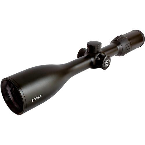 Styrka 4-12x50 S3 Side Focus Parallax Riflescope (SH-BDC Reticle, Semi-Gloss Black)