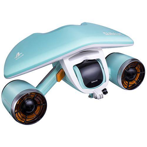 Sublue US WhiteShark Mix Underwater Scooter (Aqua Blue)