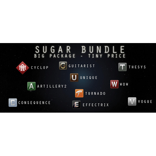 Sugar Bytes Sugar Bundle - The Complete Plug-In Collection