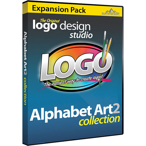Summitsoft Logo Design Studio Alphabet Art 2 Expansion Pack (Download)