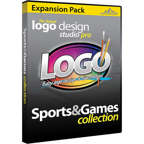 Summitsoft Logo Design Studio Pro Sports & Games Expansion Pack (Download)