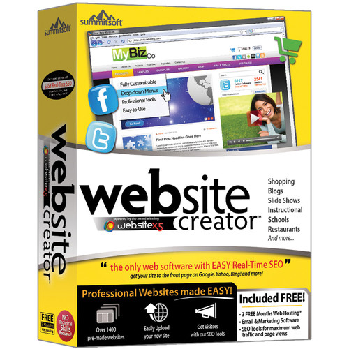 Summitsoft Website Creator (Download)