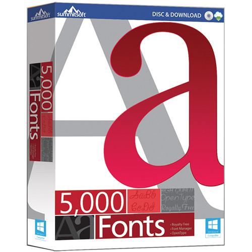 Summitsoft 5000 Fonts (Download)