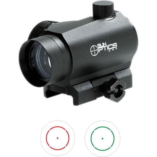Sun Optics Electronic Micro Sight, 65 MOA Shotgun Circle Dot