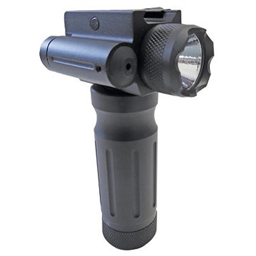 Sun Optics Fore End Grip with Green Laser & Light (Clamshell Packaging)