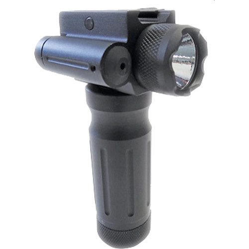 Sun Optics Fore End Grip with Red Laser & Light ()
