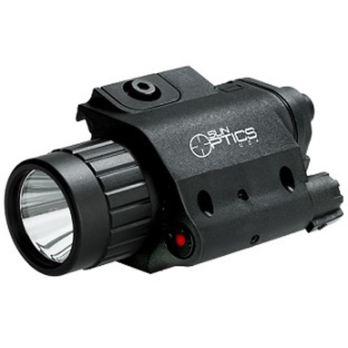 Sun Optics Illuminated Laser/Light (Red) (Clamshell Packaging)