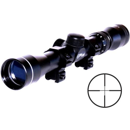 Sun Optics 3-9x32 Promotional Heavy Duty Riflescope (Duplex .22 Center Reticle, Matte Black)