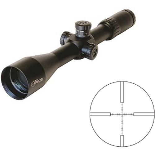 Sun Optics 6-24x50 First Focal Plane Tactical Hunter Riflescope (Mil-Spec Reticle, Matte Black)