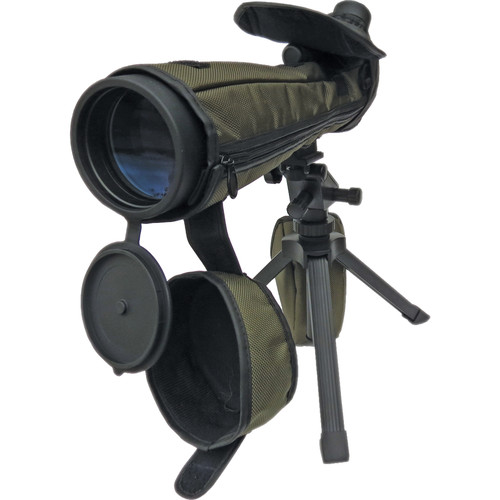 Sun Optics Bighorn Hunter 20-60x80 Spotting Scope (Angled Viewing)