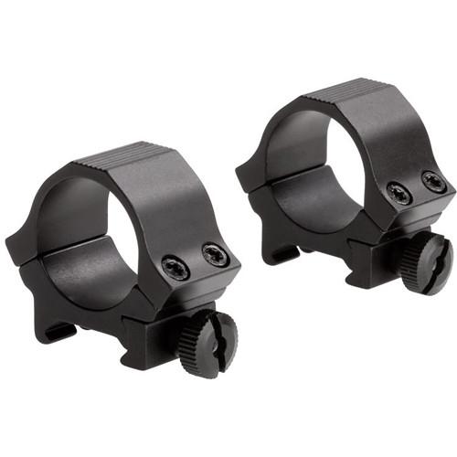 "Sun Optics Standard Sport Aluminum Riflescope Rings (1"", Low, Black Matte)"