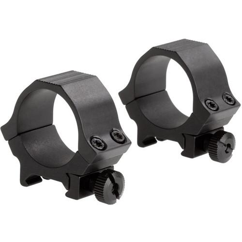 Sun Optics Standard Sport Aluminum Riflescope Rings (30mm, Low, Black Matte)