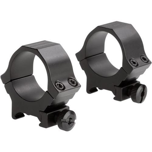 Sun Optics Standard Sport Aluminum Riflescope Rings (30mm, Medium, Black Matte)